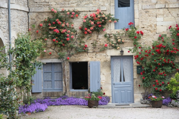 Nice House In Dijon House In Dijon Two Flavigny Houses Displaying Their Climbing  Roses
